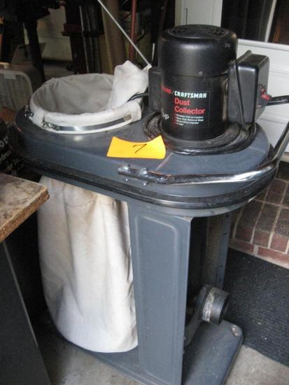 Craftsman Dust Collection System, Model 113.299780, SN 90307A0034, Owner's manual included.