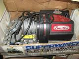 Superwinch Electric Winch & Accessories, Model:X-3, 3952, Load 4500 lb., cable 7/32