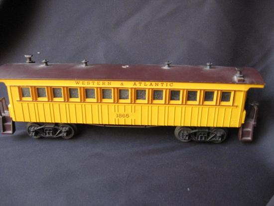 1865 W&A Passenger Car