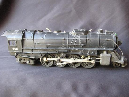 736 Steam Locomotive (All steel)