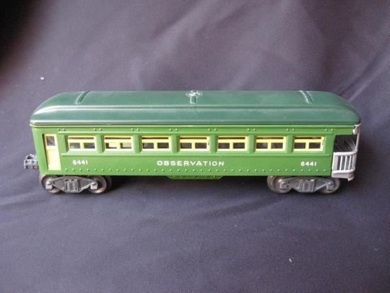 6441 Green Metal Pullman