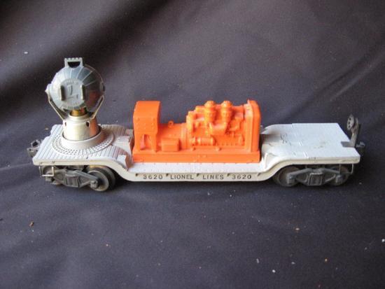 3620 Lionel Lines Searchlight Car