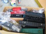 BOX FULL of CARS! Includes Cabooses, Work Cabooses, Cattle Cars and Gondolas and More!