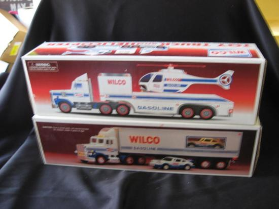 2 Wilco Trucks:Toy Truck & Helicopter and Toy Truck & Racer