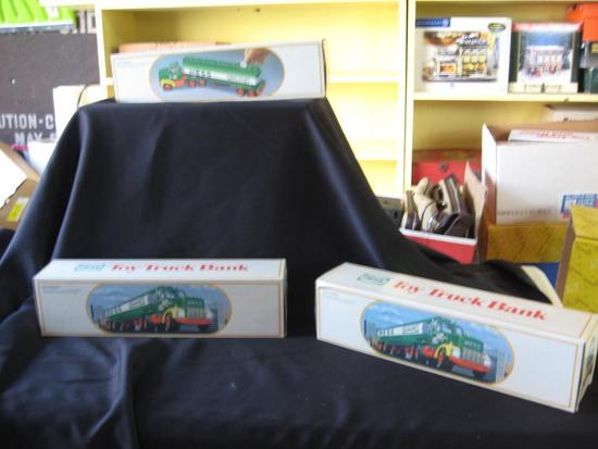 Hess Toy Truck Banks (3)