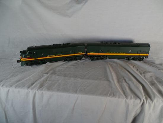 Northern Pacific Diesel Locomotives: 2 units, 2390 NP F3A, 6-18132 & 2390 NP F3B, 6-18133