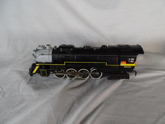 Chessie Steam Special Die-cast 2-8-4 Berkshire Steam Engine & Tender, 6-8003