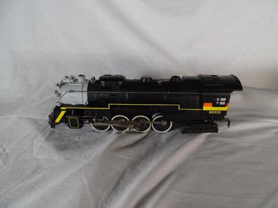 Chessie Steam Special Die-cast 2-8-4 Berkshire Steam Engine & Tender, 6-8003