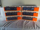 6 Wabash Cars in original Lionel shipping box, 6-7227 : 6-7232
