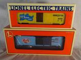 9700 BC I Love N. Carolina, 6-19986-Like New! & I Love Minnesota Box Car, 6-19919