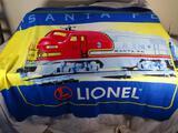 Lionel Blanket Santa Fe train
