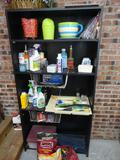 Bookcase and contents-laminate