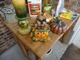 Halloween House/Pumpkins/Candle