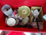 Tub of Kitchen items!