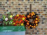 Halloween/Autumn wreaths plus one Spring one