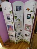 Folding wood picture frame, 60