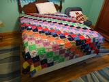 Patchwork Quilt-double bed size
