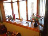 Window Decor. Includes flowers, candle holder, frame, mirror and more.