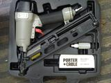 Porter + Cable Air Gun Model DA250B, 15 Gauge finished nailer, in case, only slightly used.