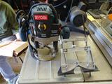 Ryobi Router 2HP Peak-Variable speed 2 HP Peak w/ Craftsman Router Edge Guide & Contour finger