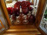 12 red wine glasses