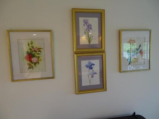 4 Marie Boyles Watercolors