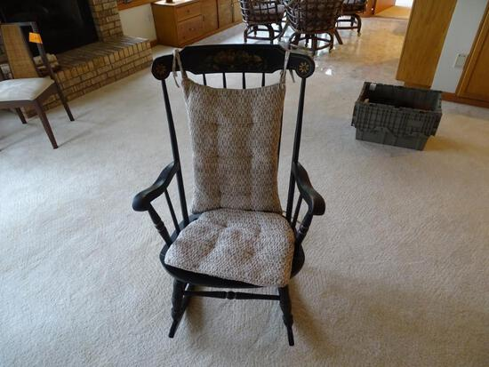 Rocking Chair-Black
