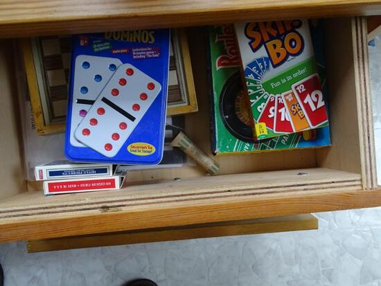 Games!-Skip Bo, Double Dominoes and Monopoly