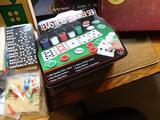Lots of Games!-Texas Hold 'Em Poker Set, Scrabble, Magnetic Playing Cards, Checkers, etc.