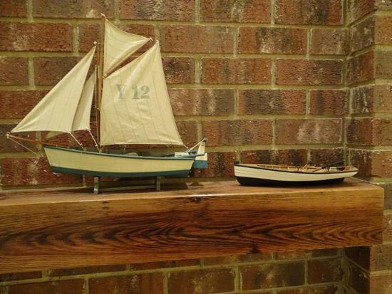 2 Wooden Boats