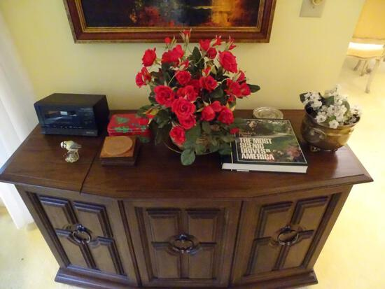 Flowers, book, coasters, bird and Christmas bin
