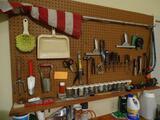 Assortment of hanging tools