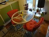Wrought iron Kitchen table (30