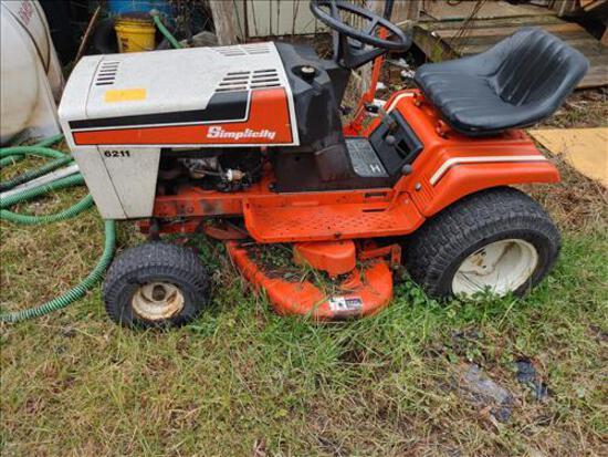 """Simplicity 6211 Lawnmower, 42"""" deck-dead battery"""
