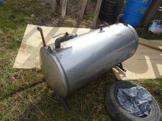 Stainless steel Vacuum tank-60 gallon