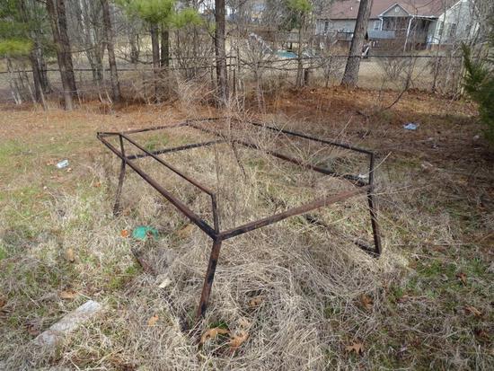 Ladder rack for small pickup