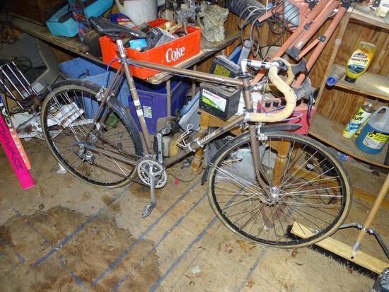 Raleigh men's bicycle-15 speed-needs new tires.