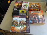 7 Board Games: Forbidden Island, Deadpool vs the World, Resident Evil (Outbreak),