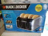 Black & Decker 4-slice toaster -never used!
