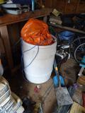 55 Gallon Barrel w/tarps-plastic