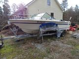 Slick Craft SS215, 20' boat, Chevy V8 ~250HP, Parts needed for rebuild are included.