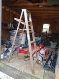 Wooden ladder-6'
