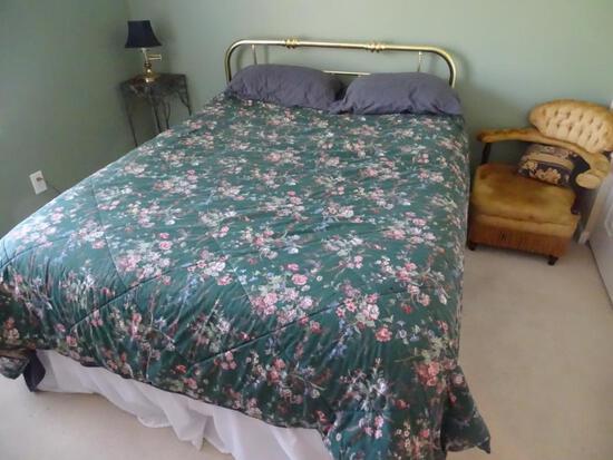 Brass Queen size Bed
