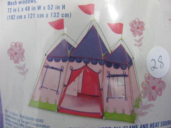 Fairy Princess Palace Tent by Backyard Discovery - In Case - 72  x 46  & Fairy Princess Palace Tent by ... Auctions Online | Proxibid