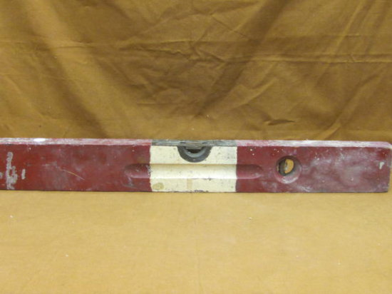 Old Fashioned Wooden Level Tool Stanley Usa Patd 11 3 08 5 8