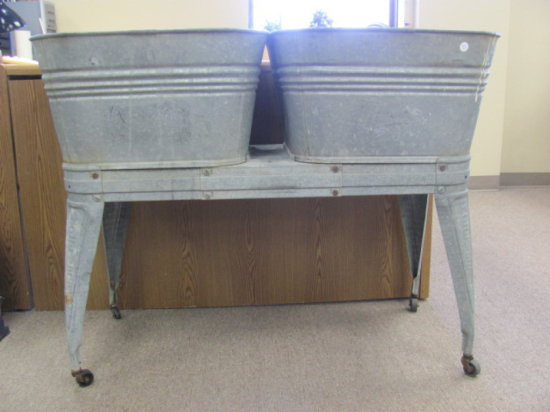 Old Reeves Galvanized Double W Auctions Online Proxibid
