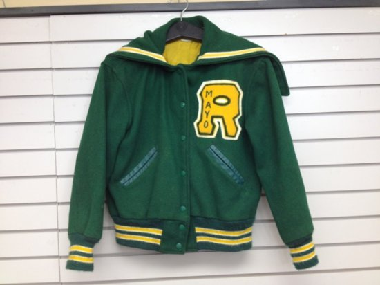 Letter jacket rochester mn auctions online proxibid letter jacket rochester mn mayo high school custom fit spiritdancerdesigns Choice Image