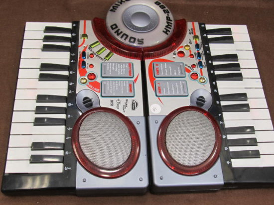 Sound Mixer HMP-288 Toy - Push Demo or Play & Mix Your Own