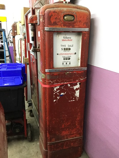 Gilbarco cato-meter gas pump | Art, Antiques & Collectibles