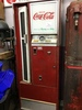 Coca cola up/right pop machine